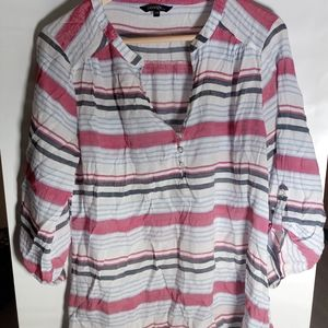 George Large Stripped Top